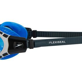 speedo Futura Biofuse Flexiseal Goggle Oxid Grey/White/Blue